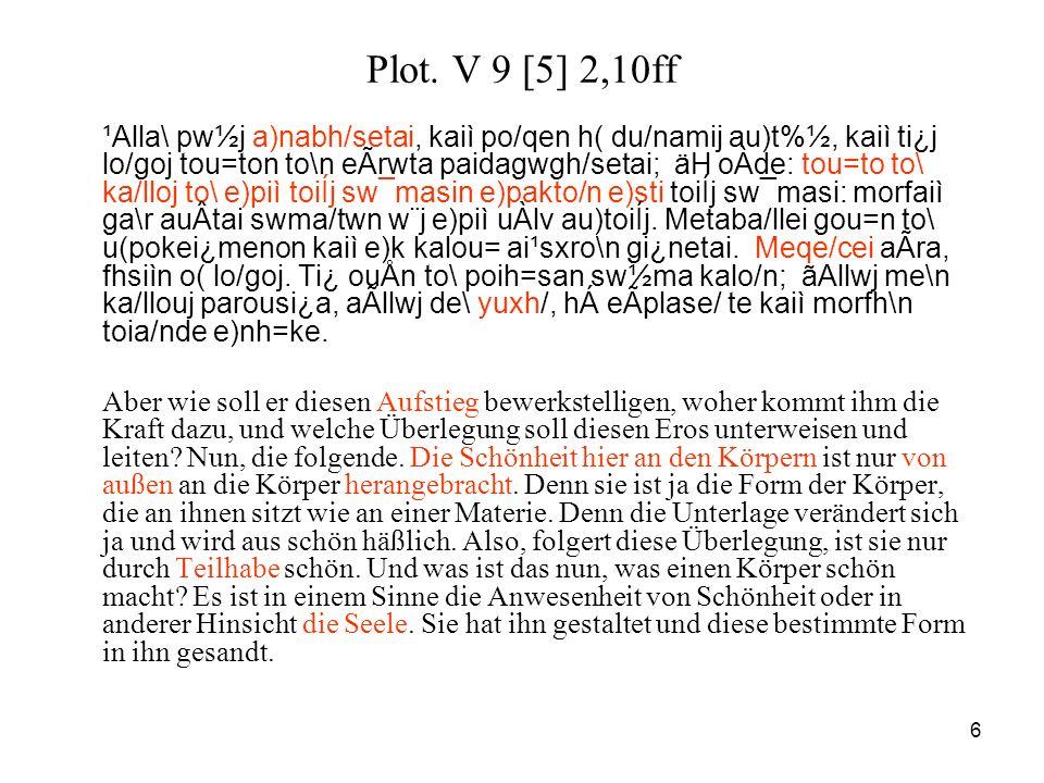Plot. V 9 [5] 2,10ff